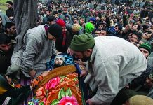 Casualties continue resulting from the oppressive and violent treatment of the Kashmiri people by Indian forces.