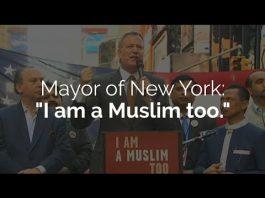 NYC Mayor speaks at rally -via IlmFeed