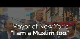 NYC Mayor speaks at rally -via IlmFeed