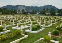 Muslim graveyard, Malaysia