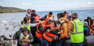 the biggest refugee crisis in recent times grips Europ