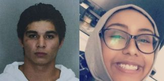 Nabra Hassanen (r) was killed by Darwin Martinez Torres (l) in what was deemed an act of road rage.