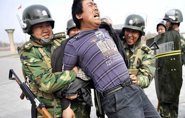 The brutal repression and violent interference of the Chinese government in the Muslim Uyghur peoples' right to practice their faith freely should be condemned and stopped by the UN and the world community
