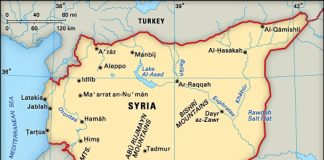 Syria. (via Brittanica)
