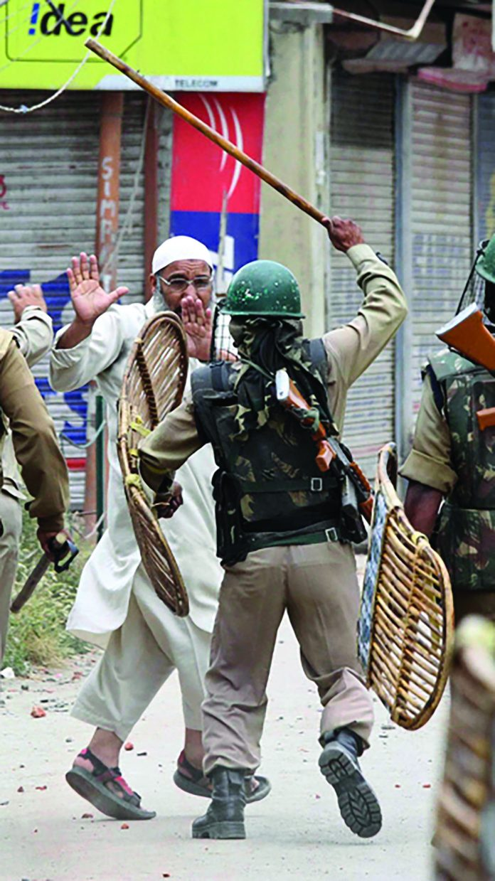 The JRL said that India is using National Investigation Agency coercion to defame and weaken Kashmiri resistance. Today, the so-called 'biggest democracy' is bullying Kashmiris.