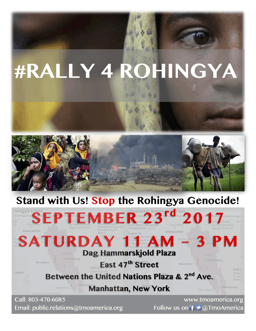 #rally4rohingya