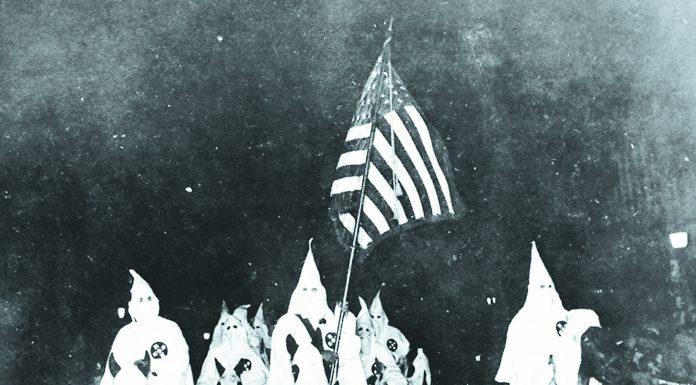 Tulsa, Oklahoma Klan parade in September of 1923.