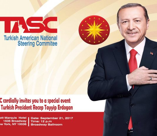 Turkish President Tayyip Erdogan (Turkish American National Steering Committee photo)