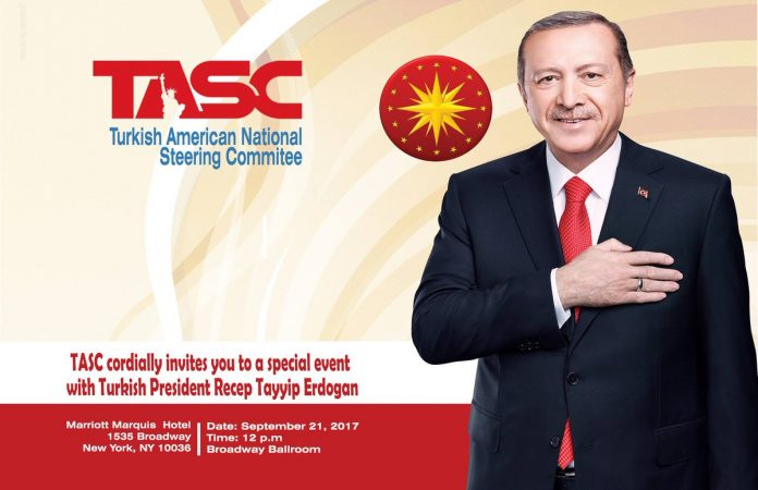 Turkish President Tayyip Erdogan (Turkish American National Steering Committee photo)