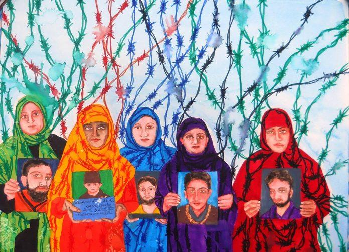 Photo via APDP Kashmir