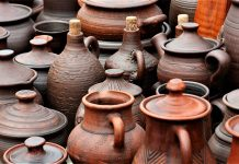Clay water pots