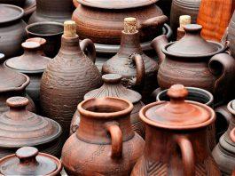 Clay water pots