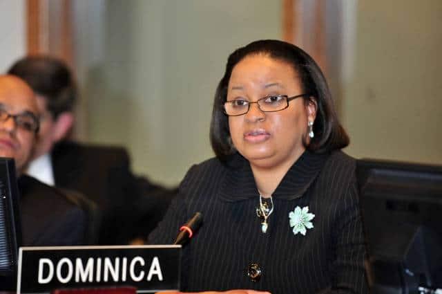 Dominica's alternate representative to the OAS, Judith-Anne Rolle